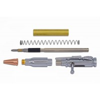 Bolt Action Pencil Kit - Chrome