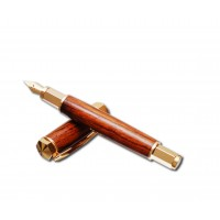 Hexagonal Fountain Pen Kit - Gold